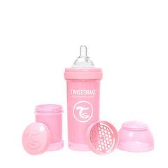 Biberon anti-colique 260 ml - Rose Pastel  , Twistshake
