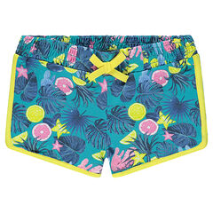 Junior - Short met tropische print