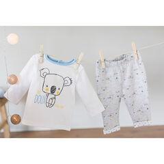 Pyjama uit jerseystof met print met koala's