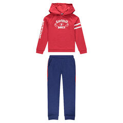 Junior - Ensemble de jogging en molleton bicolore