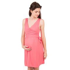 Mouwloze zwangerschaps- en borstvoedingsjurk