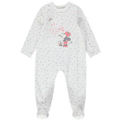Dors-bien en velours Minnie Disney imprimé all-over