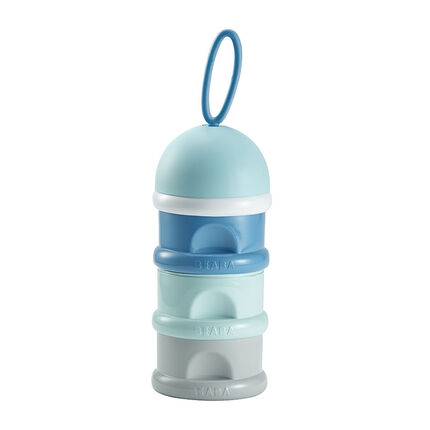Stapelbare doseerdozen voor melkpoeder - Blauw