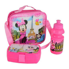 Lunchbox sac goûter + gourde - Disney Minnie