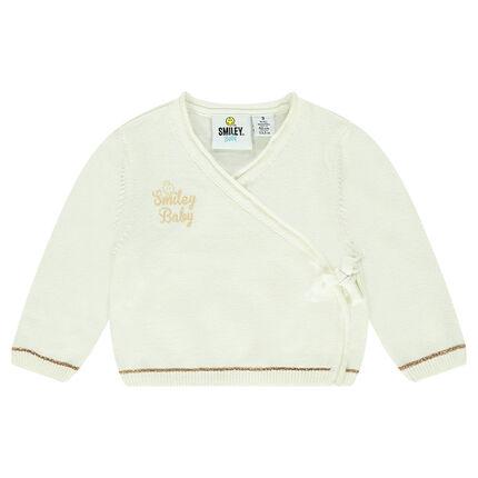 Brassière en tricot avec print ©Smiley Baby