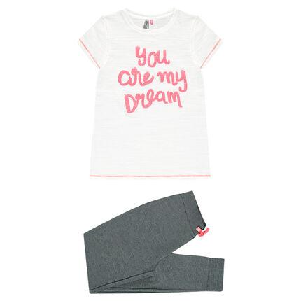 Junior - Pyjama met sierprint