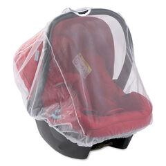 Muggennet universeel voor autostoel Groep 0+ - Wit