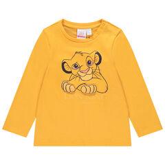 T-shirt manches longues en coton bio print Simba Disney