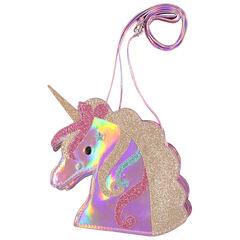 Sac bandoulière licorne iridescent à paillettes