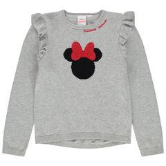 Pull en tricot à volants et Minnie en jacquard Disney