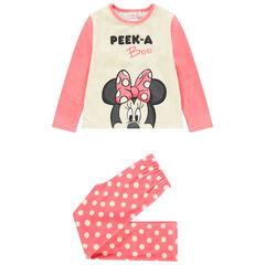 Pyjama en velours à pois et print Minnie Disney , Orchestra