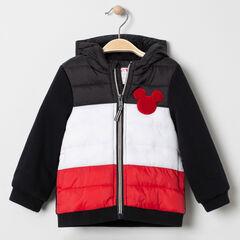 Veste matelassée tricolore motif Mickey Disney pour bébé garçon , Orchestra