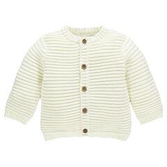 Gilet in tricot en breiwerk