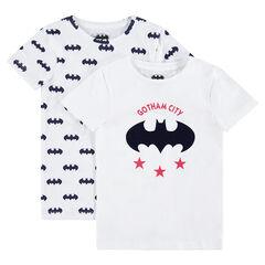 Lot de 2 maillots de corps avec logo Batman