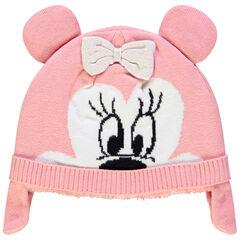 Bonnet en tricot motif Minnie Disney doublé sherpa , Orchestra