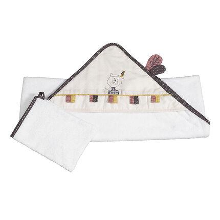 Set de bain en coton - Timouki
