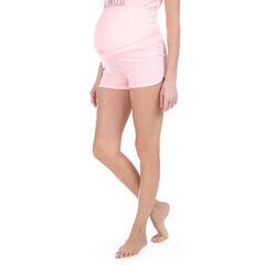 Homewear zwangerschapsshort met hoge band van jerseystof