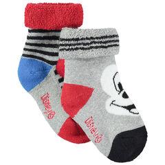 Set met 2 paar matching sokken met motief van Disney Mickey