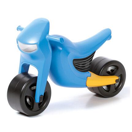 Loopauto Speedy motor - Blauw