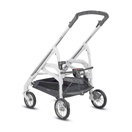 Onderstel wandelwagen Trilogy plus chassis - Chrome/white