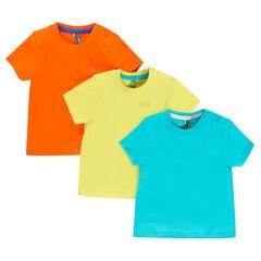 Lot de 3 tee-shirts manches courtes
