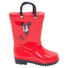 Rubberen regenlaarzen met lussen Disney Mickey