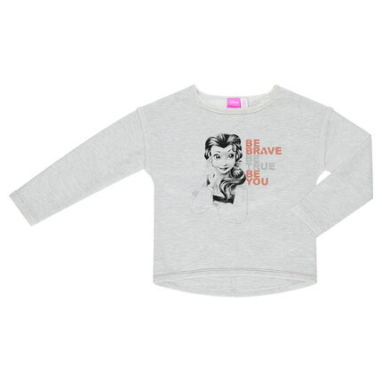 Sweat en molleton Disney print Belle