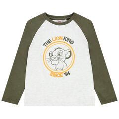 T-shirt manches longues print Simba Disney pour enfant garçon , Orchestra