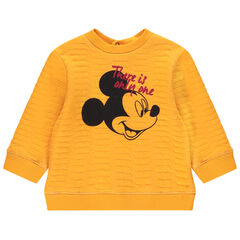 Sweat en molleton syle ottoman print Mickey Disney