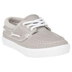 Chaussures basses en toile style bateau du 24 au 27