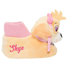 Chaussons peluche forme bottines Skye - Pat Patrouille