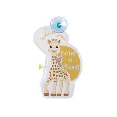 Baby on board flash kaart met LED lichtjes Sophie de giraffe