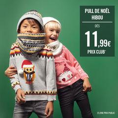 Pull de Noël en tricot avec motif jacquard