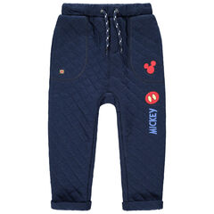 Pantalon de jogging en molleton fantaisie avec prints et broderies Mickey Disney