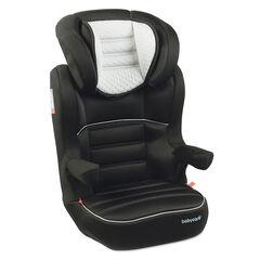 Autostoel Quilt Groep 2/3 (van 15 tot 36 kg) - Zwart
