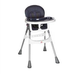Kinderstoel Basic - Blauwgrijs