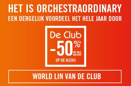 Lid worden van de Club Orchestra