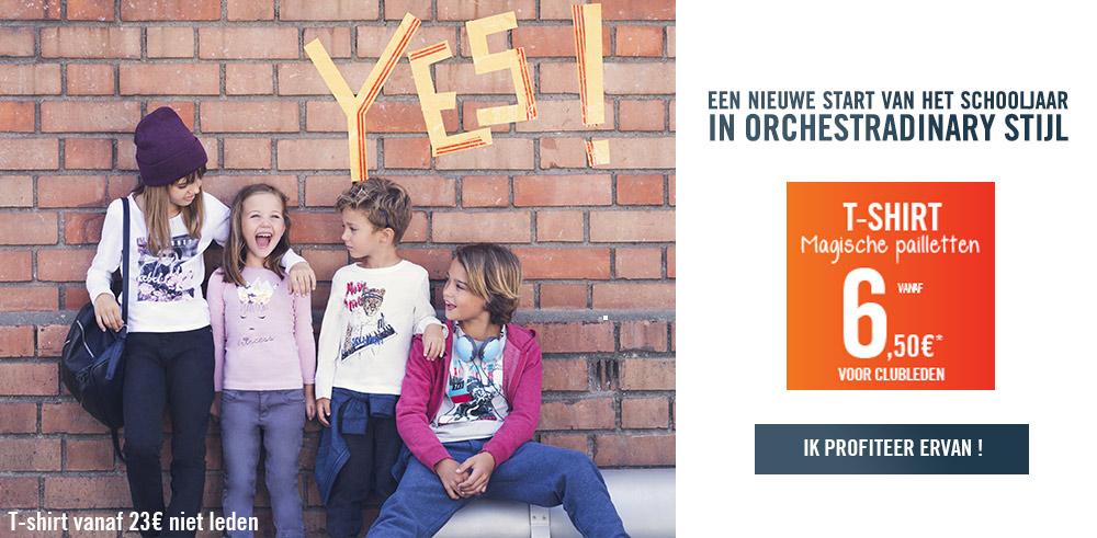 Une rentrée Orchestraordinaire avec les tee-shirts à sequins à petits prix