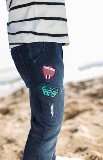 nouvelle collection bébé orchestra jeans patches