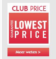 Avec le prix Club, c'est la garantie du prix le plus bas sur toute la puériculture