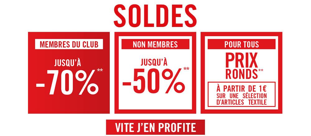 Soldes jusqu'à -60% pour les membres du Club Orchestra