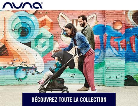 Nuna, la marque en vente exclusive chez Orchestra !