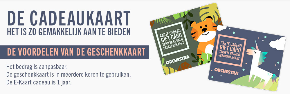 carte cadeau - Orchestra 2019