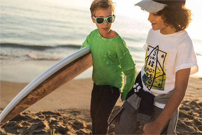 nouvelle collection orchestra newco junior 8-14 ans plage garçon surf surfwear