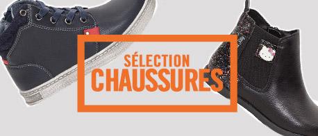 sélection chaussures fille et garçon Orchestra 2017