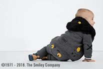Trendy smiley baby 1-12 maanden